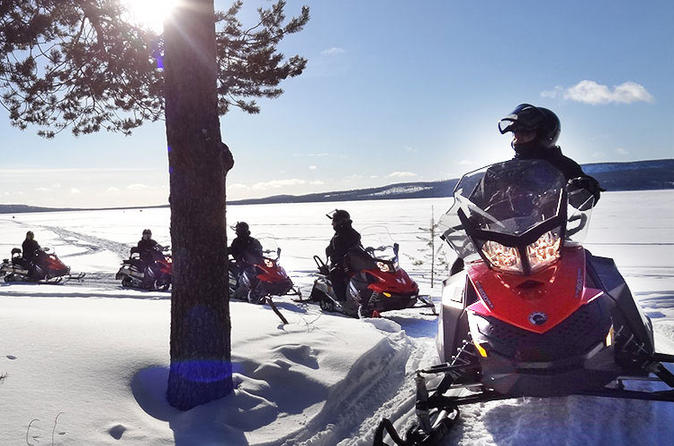 Snowmobile Driving - Morning Start - Rovaniemi