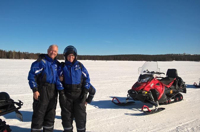 Snowmobile Safari In The Nature - Morning Start - Rovaniemi