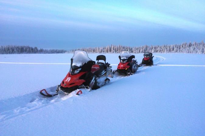 Snowmobile Safari On The Tundra