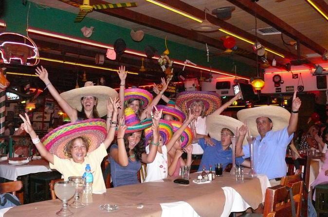 Festa de boas vindas mexicana em Cancun