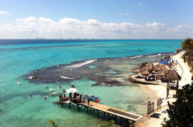 Ingresso VIP para o Garrafon Natural Reef Park da Isla Mujeres