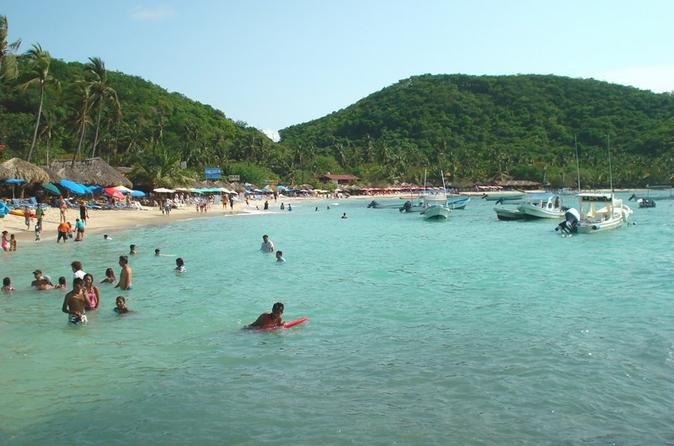 Las gatas island beach break with snorkeling in ixtapa 290568