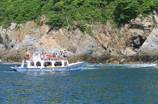 Private day trip 7 bays of huatulco from puerto escondido in puerto escondido 286252