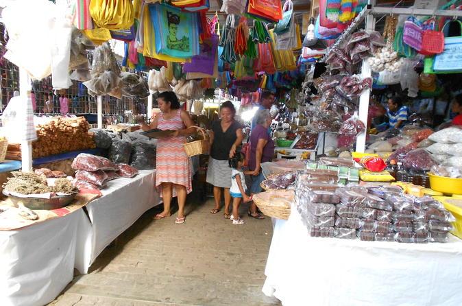Puerto Escondido City and Shopping Tour