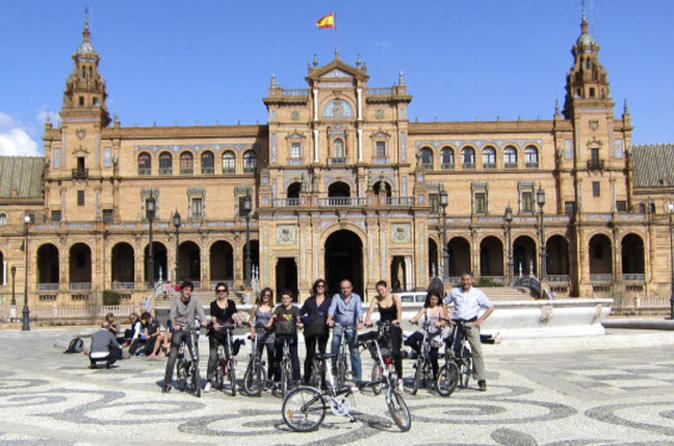 Seville bike tour in seville 124876