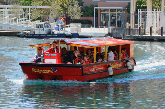 Hop-on-Hop-off-Kanal-Bootstour in Kapstadt