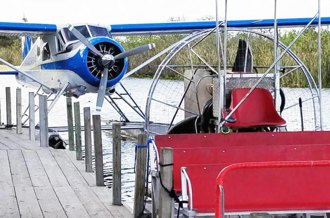 Miami Seaplane Tour with Everglades Airboat Adventure
