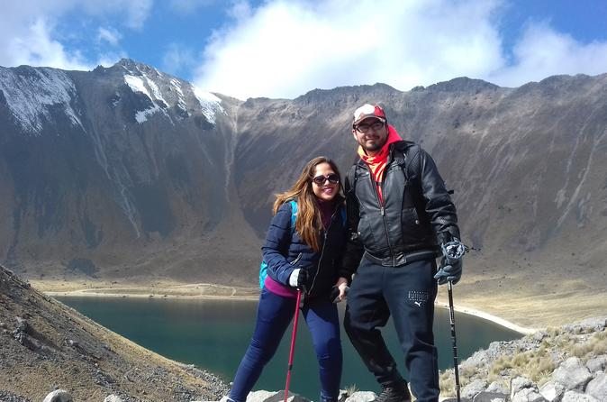 Hike at Nevado de Toluca Volcano