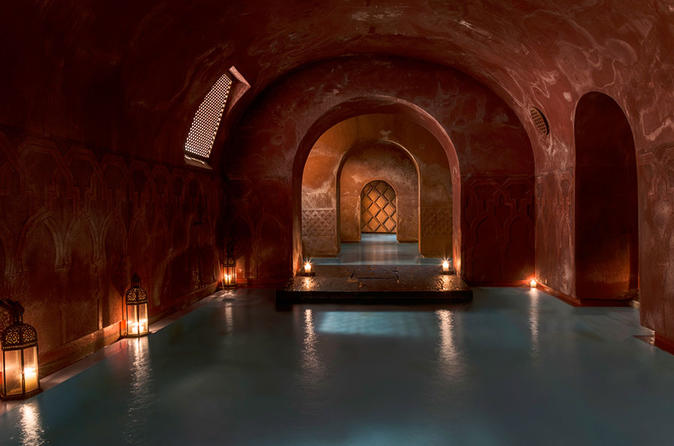 Arabian Baths and15 min massage at Madrid's Hammam Al Ándalus
