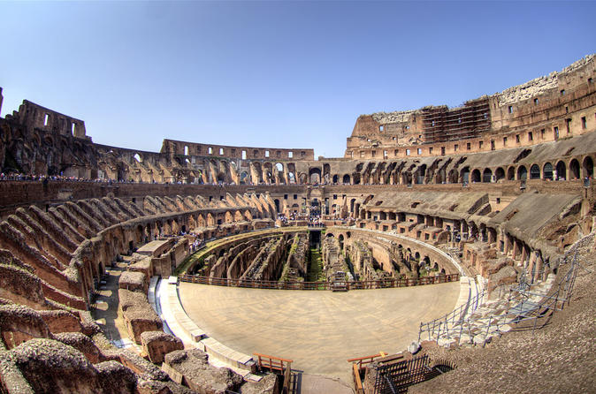 2 In 1 Colosseum Tour & 24h Sightseeing By Bus - Rome