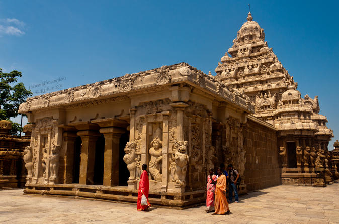 Private Custom Day Tour: Chennai To Kachipuram Sightseeing With Guide