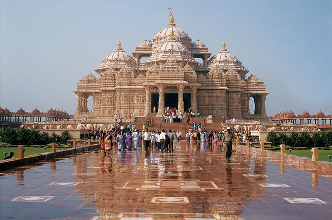 Private tour akshardham temple and spiritual sites of south delhi in new delhi 199873