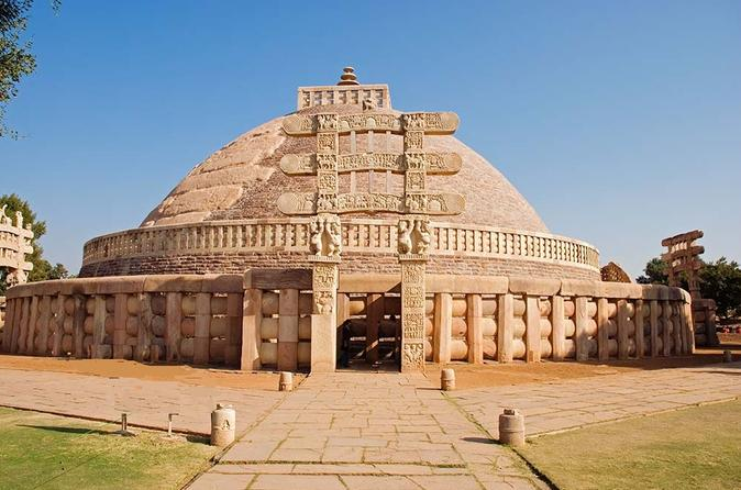 Private Tour: Full-Day Sanchi and Udayagiri Caves Tour from Bhopal