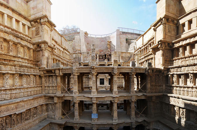 Private Tour: Full-Day Stepwells Tour from Ahmedabad