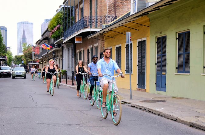 New Orleans Small-Group Bike Tour