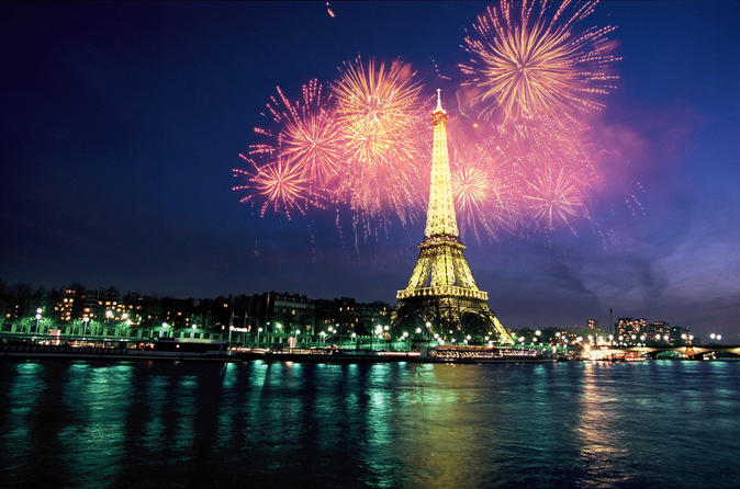 Bateaux Parisiens Bastille Day Cruise - 6-Course Gourmet Dinner and Live Music