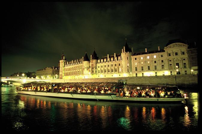 Bateaux Parisiens Seine River Dinner Cruise  Viator