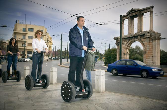 Athens city highlights segway tour in athens 124666