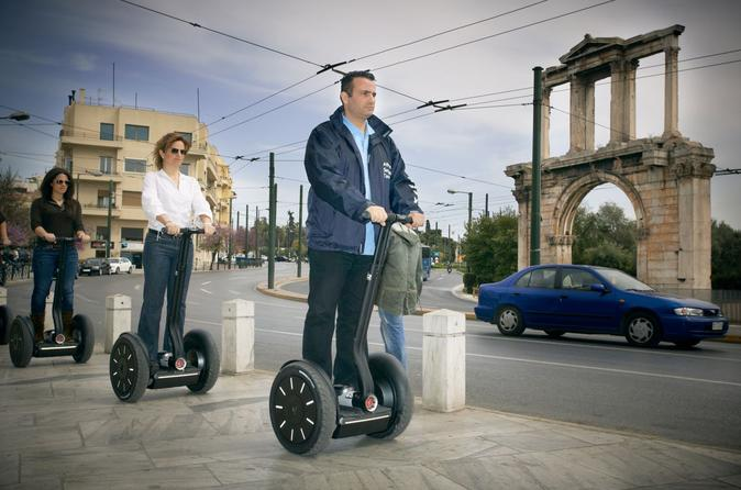 Athens national gardens segway tour in athens 124666