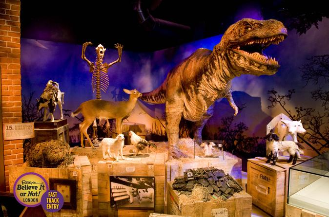 London Combo: Ripley's Believe It or Not! Ticket and Planet Hollywood Meal