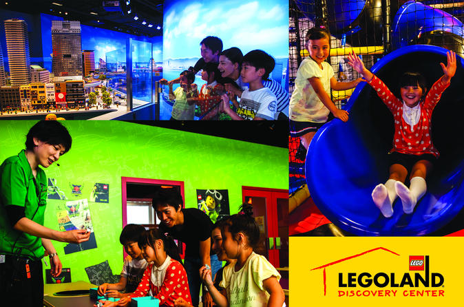 Entrance Ticket to LEGOLAND Discovery Center Osaka