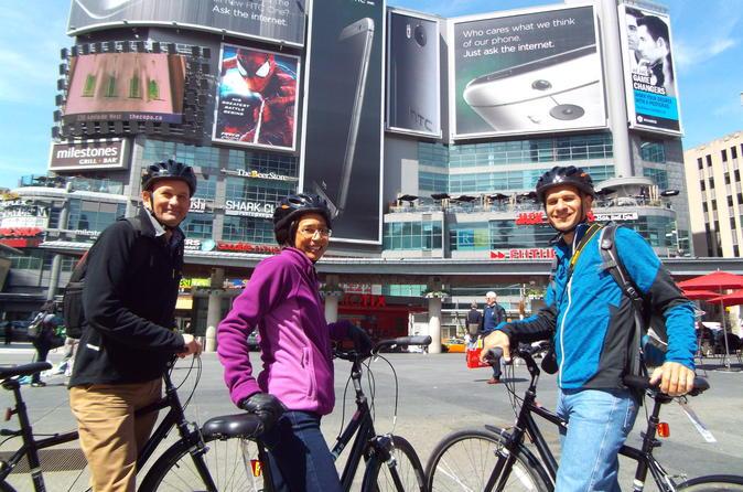 Downtown toronto bike tour in toronto 709543