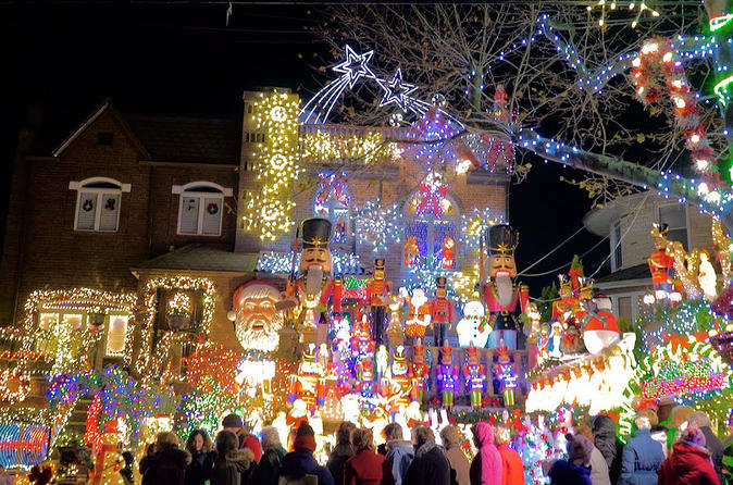 New York Dyker Heights Christmas Lights