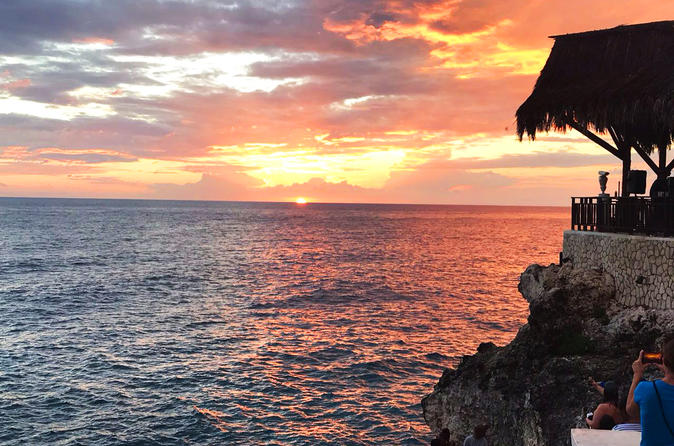 Negril Sunset Set and Beach Private Tour from Montego Bay