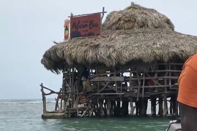 Private Tours from Montego Bay to Pelican Bar at the best and lowest rates