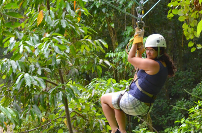 Private Tours from Montego Bay to Zipline Adventure Tour