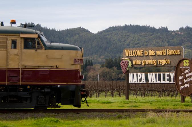 Napa Wine Tasting Tours Train
