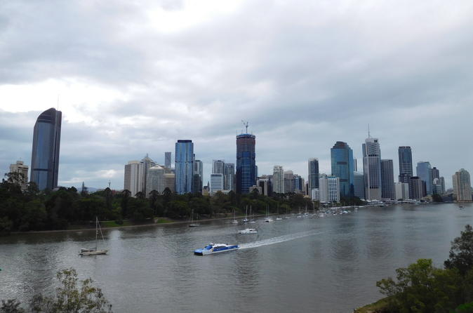 Brisbane City Sights Scenic Views and Botanic Gardens Half Day Tour
