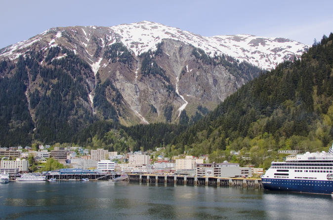 Juneau Shore Excursion: City and Mendenhall Glacier Tour with Seafood Lunch or Dinner on Mt Roberts