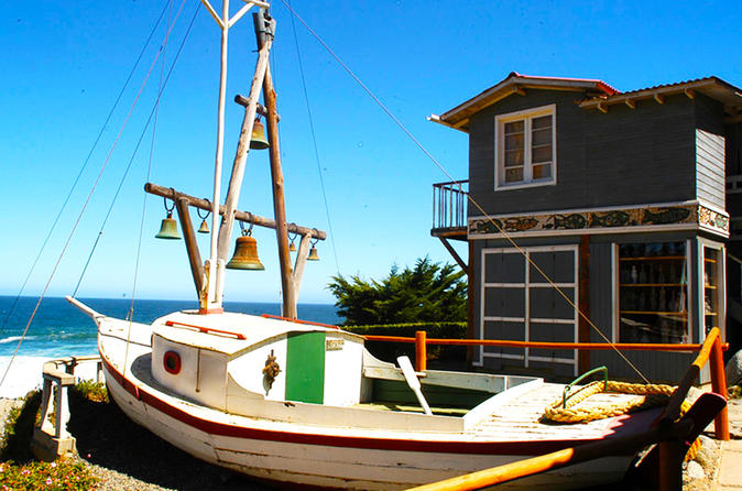 Isla Negra, Pablo Neruda's home & Vineyard