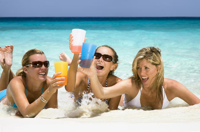 Passe de festa de praia de Rose Island saindo de Nassau