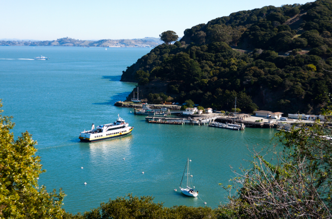 Ferry de San Francisco : Angel Island