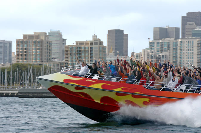 Skip the Line: San Francisco RocketBoat Ride