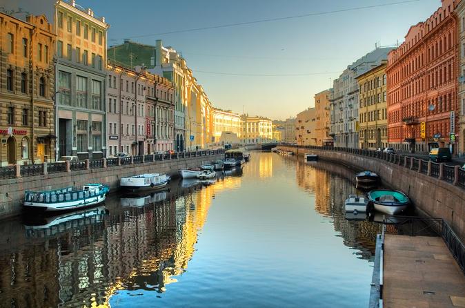 City tour a pé por São Petersburgo