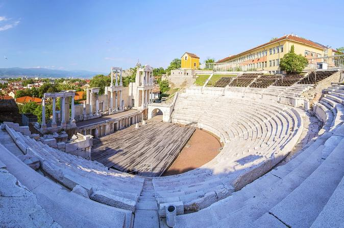 Plovdiv Full Day Guided Tour from Sofia