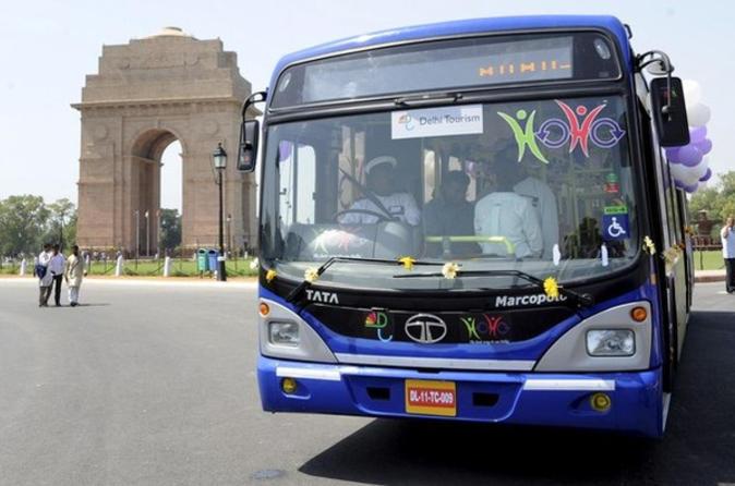 Délhi Supereconômica: Excursão em ônibus panorâmico