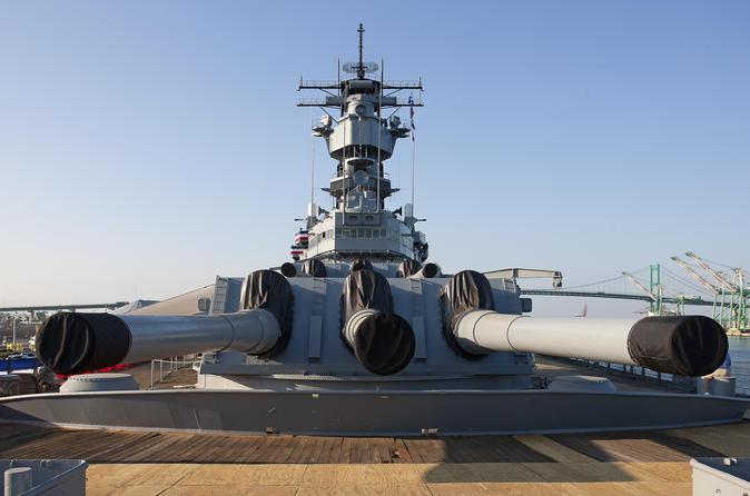 Los Angeles Shore Excursion: Battleship Iowa Museum Admission