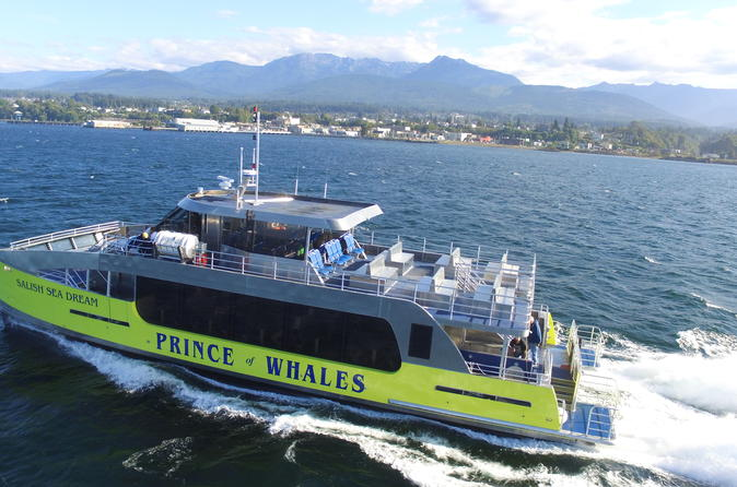 Best of Victoria Tour: Whale Watching, Butchart Gardens and Sunset Cruise back to Vancouver