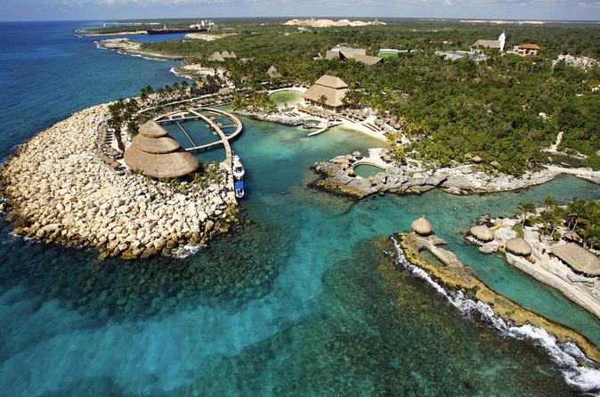 Cancun super saver isla mujeres all inclusive catamaran for Oficina xcaret cancun
