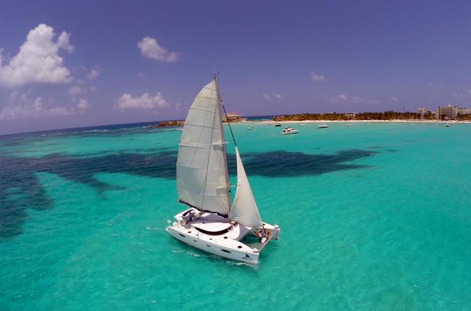 Catamarã Isla Mujeres com tudo incluso saindo de Playa del Carmen