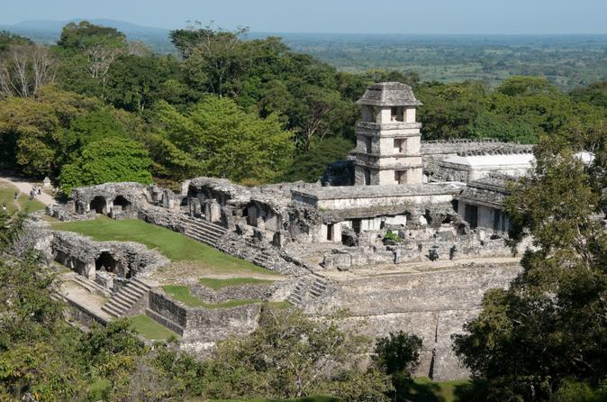Chiapas combo tour palenque mayan ruins agua azul and misol ha in tuxtla guti rrez 156289