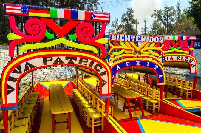 Cidade do México Supereconômica: Teotihuacan, Tlatelolco e Santuário de Guadalupe, além de Xochimilco e Museu Frida Kahlo