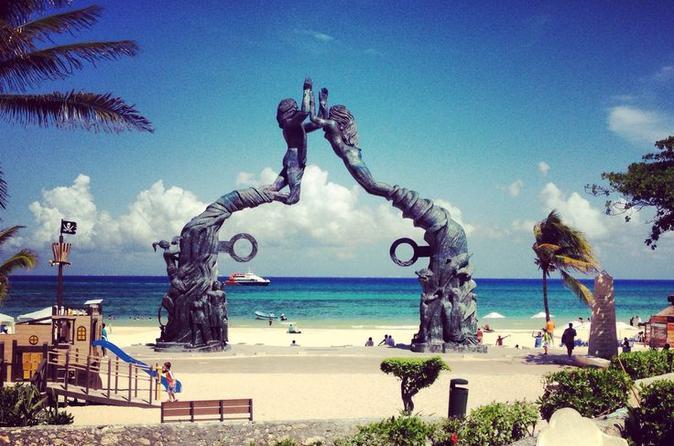 Excursão autoguiada à tarde em Playa del Carmen saindo de Cancun