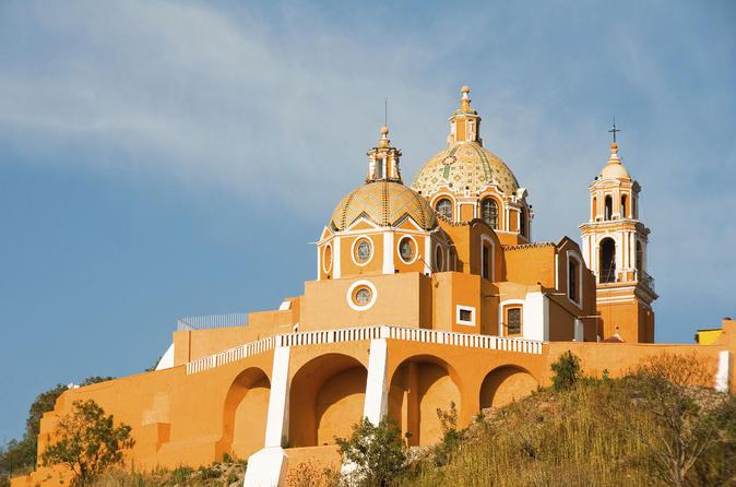 Excursão de dia inteiro a Puebla e Cholula partindo da Cidade do México