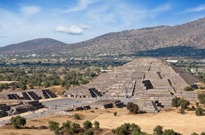 Excursão privada: Viagem de um dia nas Pirâmides de Teotihuacán da Cidade do México com um arqueólogo