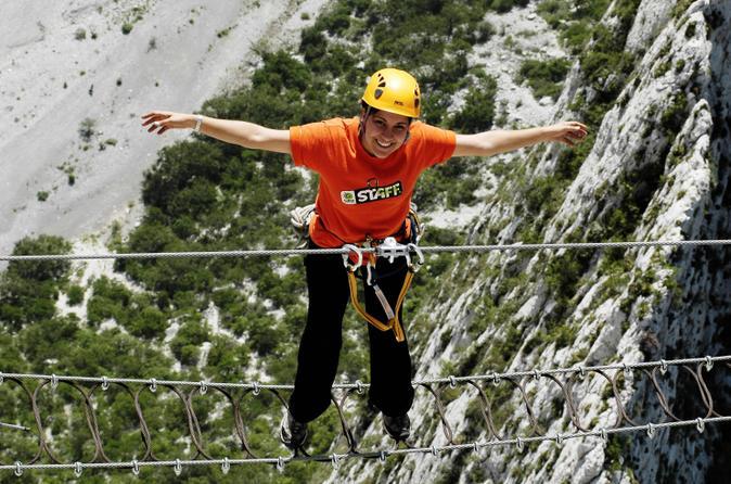 Huasteca canyon via ferrata zipline and rapelling adventure from in monterrey 169306